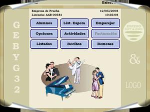Programa de Escuelas de Baile y Gimnasios